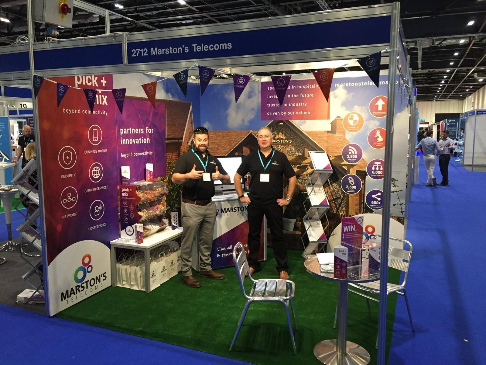 Marstons Expo Stand
